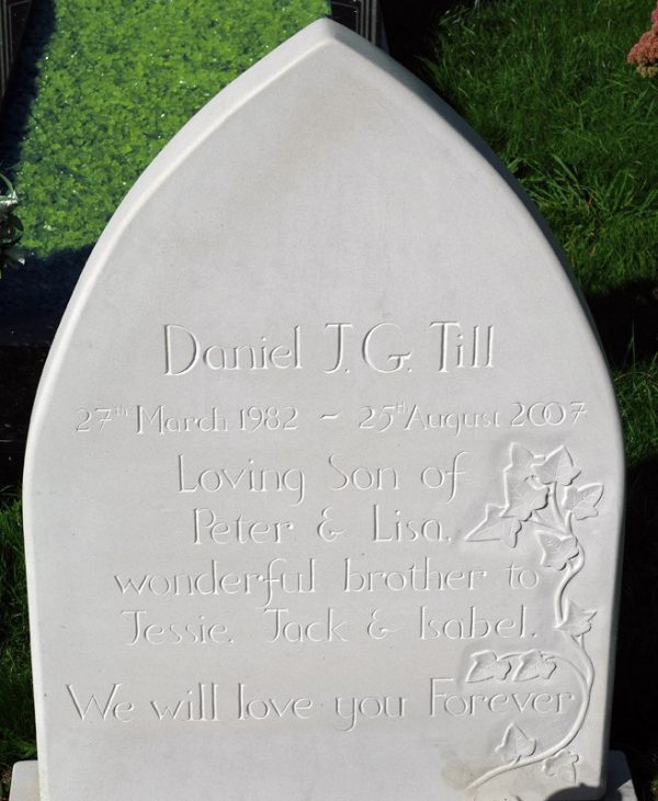 Headstone by Simon Burns-Cox