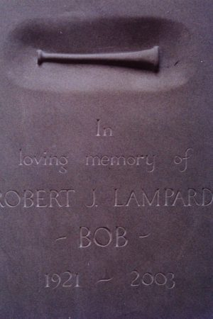 Lampard Headstone by Simon Burns-Cox