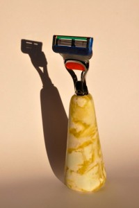 Scottish Marble Razor by Simon Burns-Cox