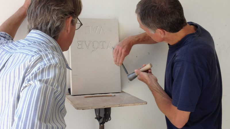 Introductory Stone Letter Carving Course