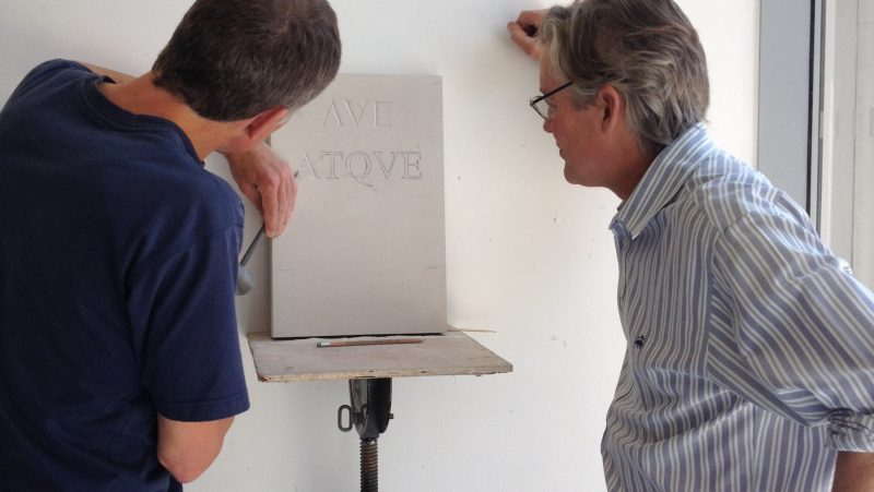 Letter Carving with Simon Burns-Cox