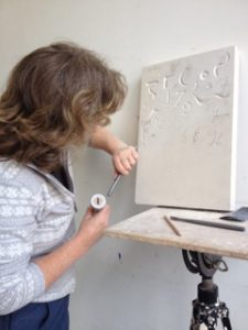 Stone Letter Carving Course