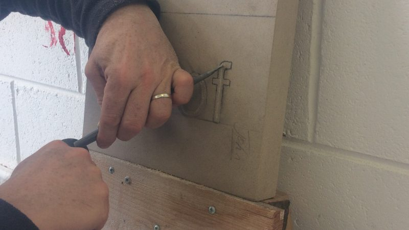 Five Week Stone Letter Carving Course