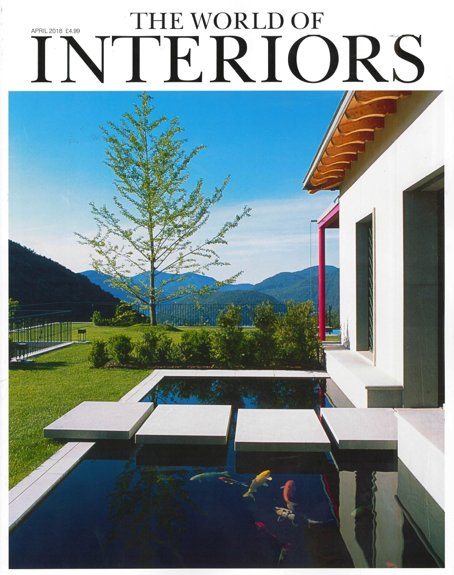 The World of Interiors April